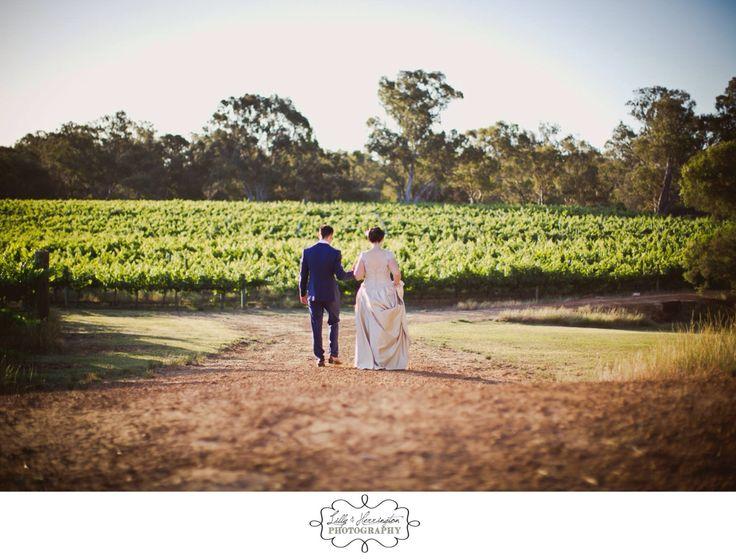 Perth vineyard wedding, bride and groom. Perth wedding photography Lilly & Herrington Photography. Www.lillyandherrington.com