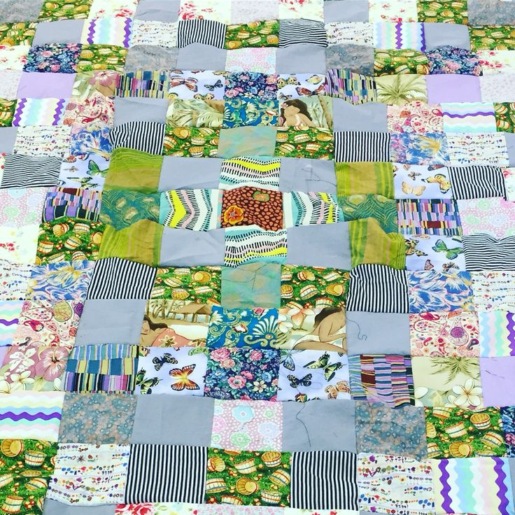 The quilt laid bare!