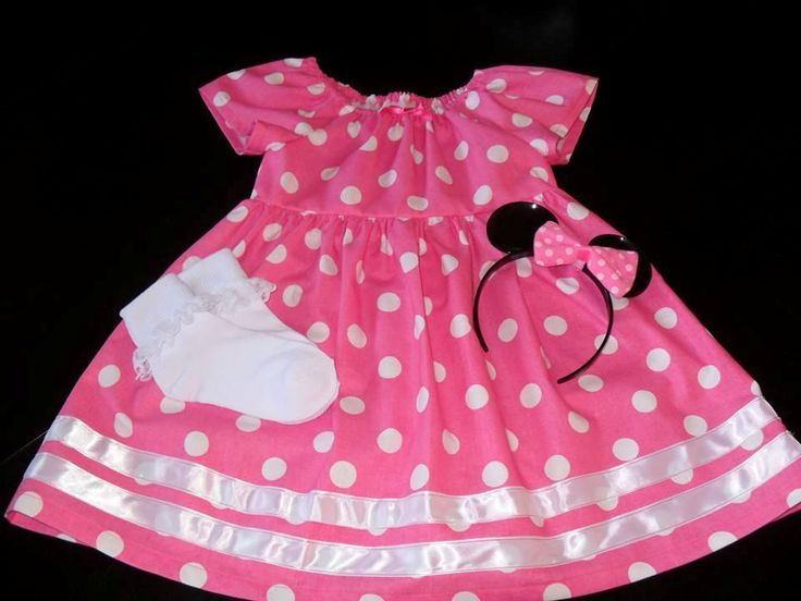 Toddler Minnie Mouse Costume Simplicity Pattern 2377