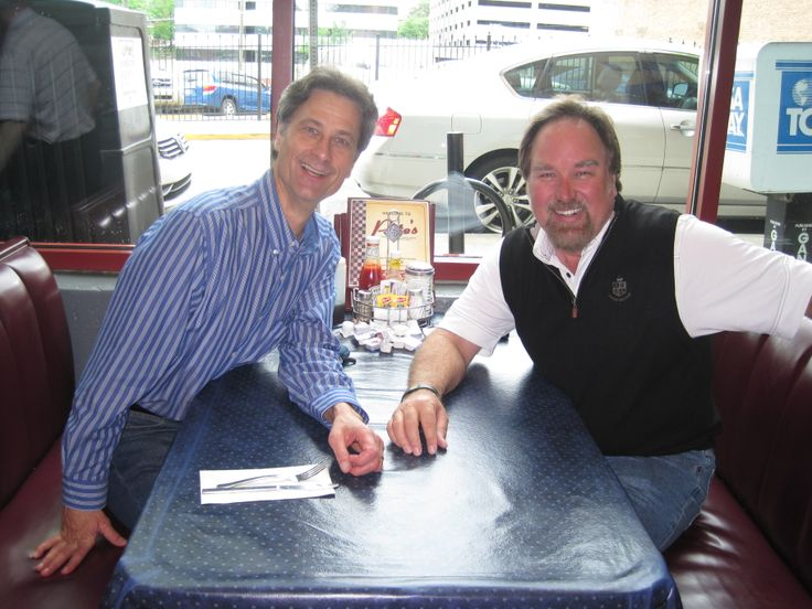 Our Artistic Director, Terry Weber, meets up with his old college buddy, Richard Karn (aka Al), in downtown Knoxville!