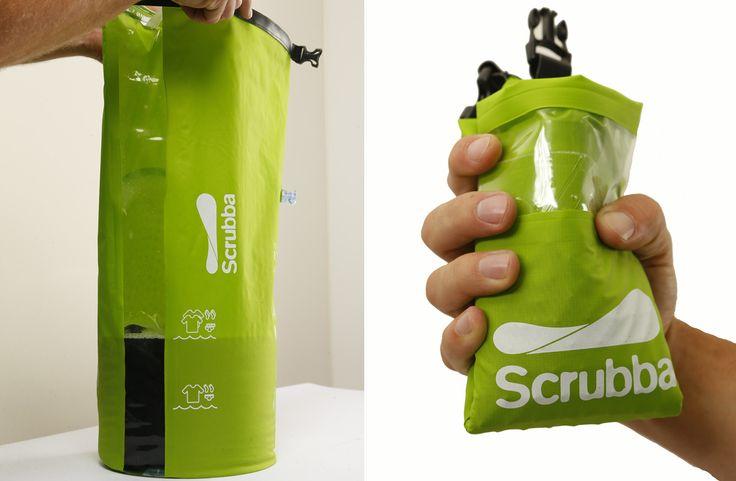 Regalador.com - Scrubba: la primera lavadora portátil