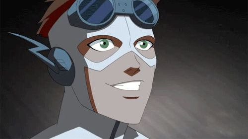 Young Justice. Wally West - Kid Flash.
