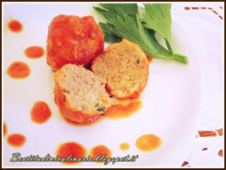 Polpette non fritte al pomodoro - http://www.toscananews.net/home/polpette-non-fritte-al-pomodoro/