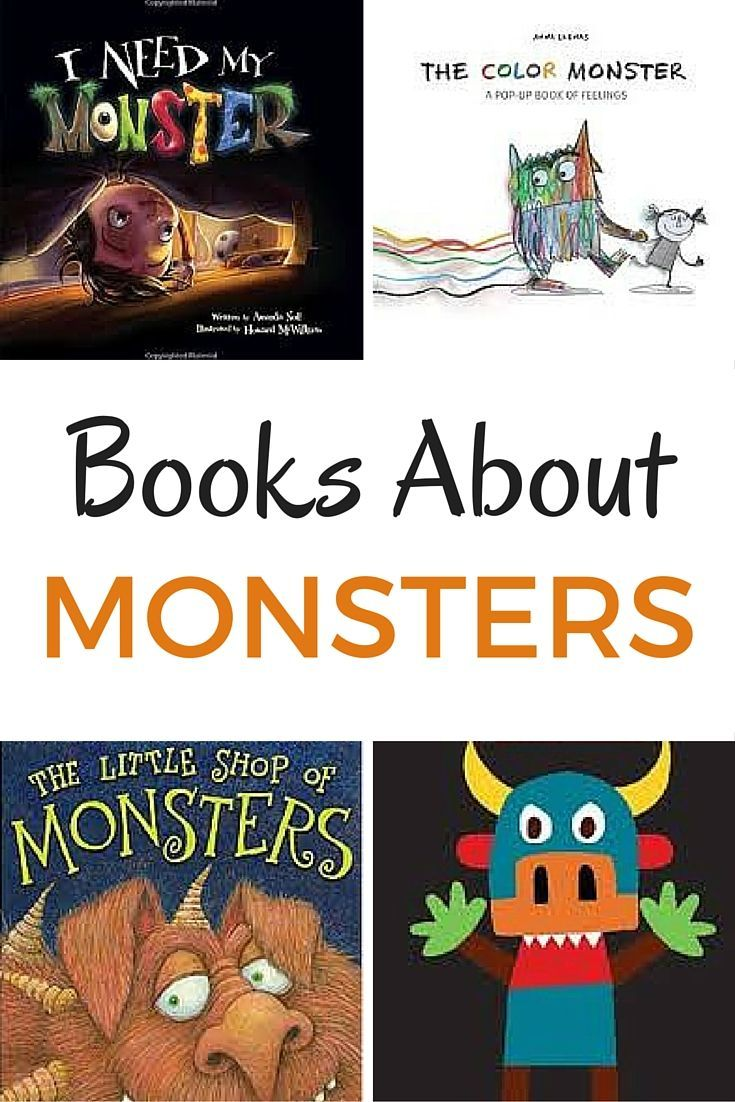 Books about color for kids - Books About Monsters Great Books For Kids
