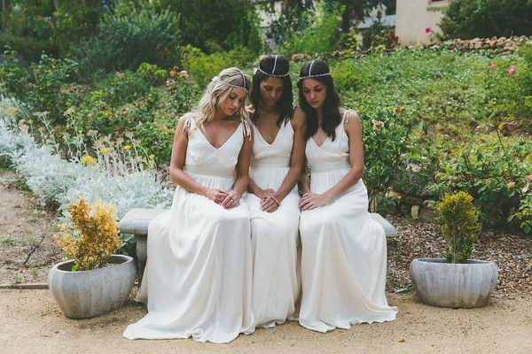 Daughters Of Simone The Revelry Sisters Bohemian Bridesmaid Gowns