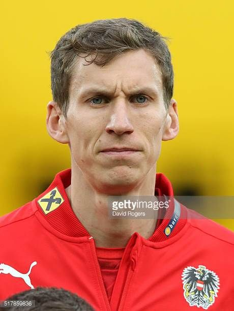 A portrait of Florian Klein of Austria during the international friendly match between Austria and Albania at the Ernst Happel Stadium on March 26...