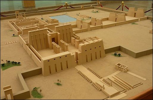 luxor temple reconstruction google search thebes pinterest world temples and luxor temple. Black Bedroom Furniture Sets. Home Design Ideas