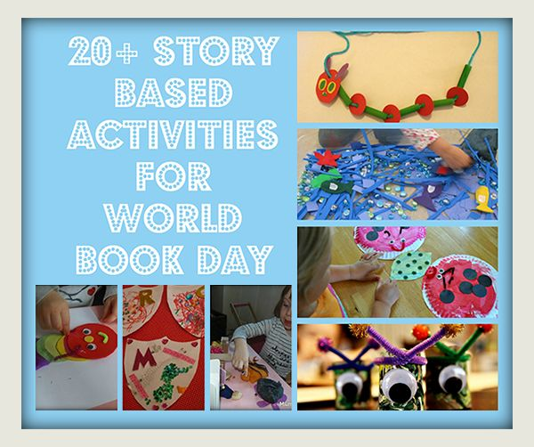 MumCentral - A Round-up of Story Activities for World Book Day