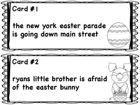 """Become an Editing """"Eggs""""bert!  Review important grammar skills with this easy to use set of task cards!  Grades 2-4"""