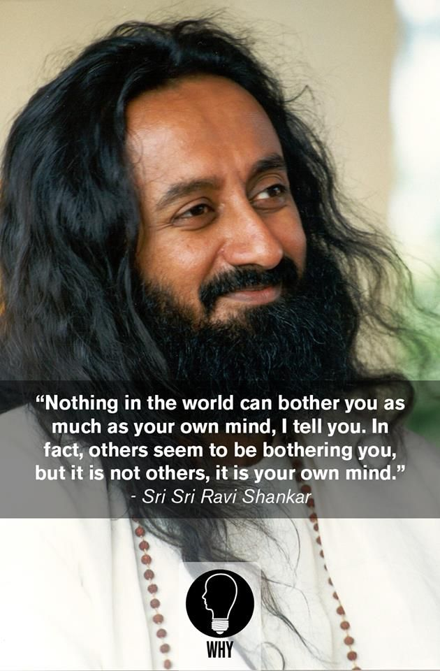 Sri Sri Ravi Shankar. Art of living. Meditation spirituality quotes