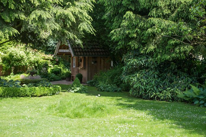 Gestaltungstipps Fur Grosse Garten Grosser Garten Garten Garten Gestalten