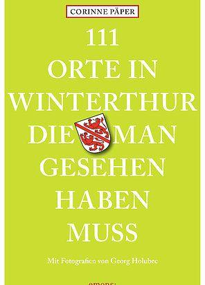 Winterthur ist eine tolle Stadt. Nur wissen das nicht alle. Ein Grund, um ein Buch dazu zu schreiben. Entdecke 111 skurille, bizarre und versteckte Orte in Winterthur und die dazugehörigen Geschichten. Auf der Website findest du weitere Infos sowie einen Wettbewerb, bei dem du jeden Monat bis Dezember 2017 ein Buch gewinnen kannst.