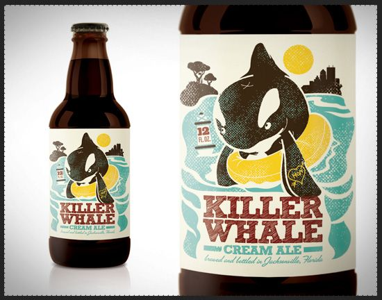 Free Willy never looked so tough... or drinkable.