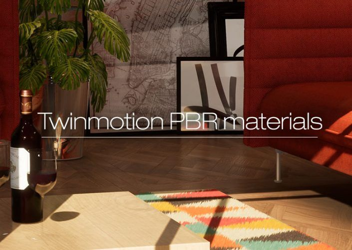 Tutorial: Create a PBR material in Twinmotion 2018