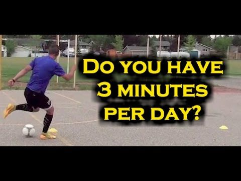 Dribbling Drills Soccer Players Can Do In 3 Minutes!