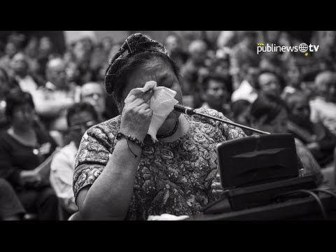 Desahogo de Rigoberta Menchú en 10 frases - YouTube