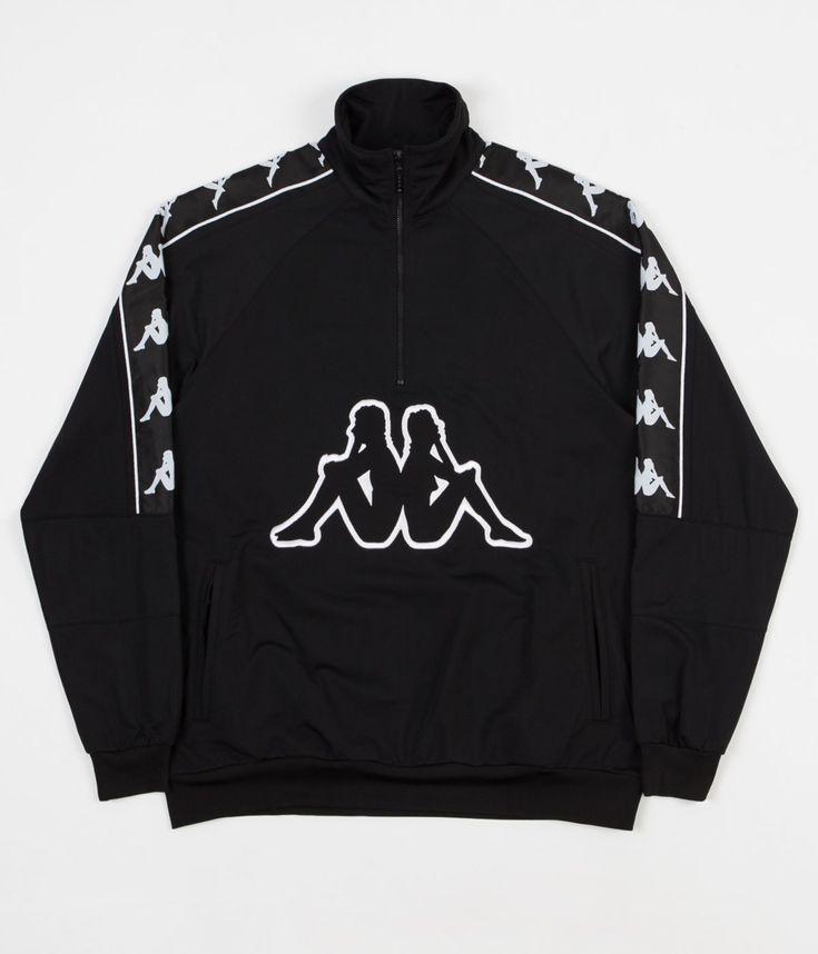 dfeda86a4f1ea8 Kappa Kontroll Banda Half Zip Jacket - Black