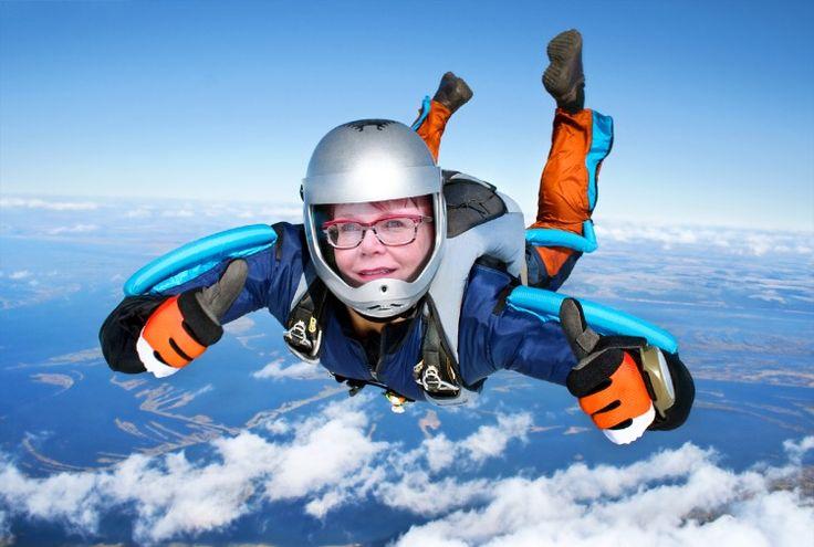Skydiving 😂