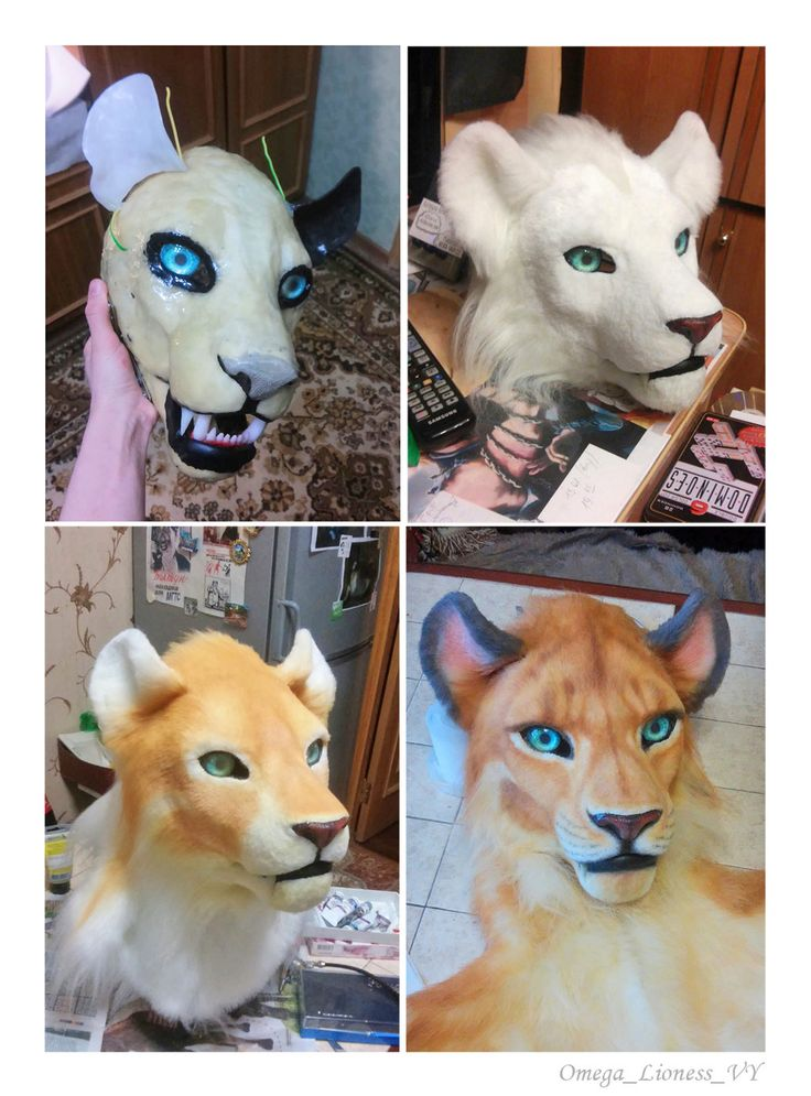 Fursuit Head By Omegalioness Deviantart Com On Deviantart With Images Fursuit Fursuit Head