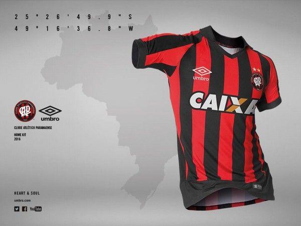 Novas camisas do Atlético Paranaense