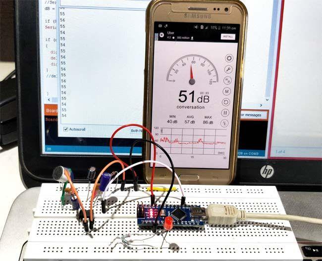 DIY Arduino Sound Level Meter