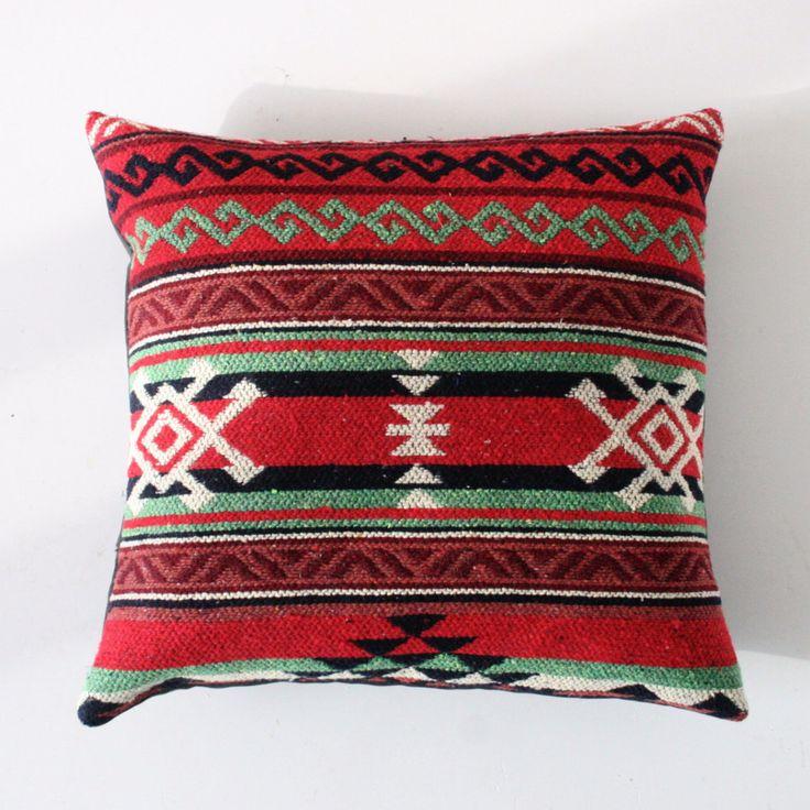 Turkish Woven Kilim Cushion
