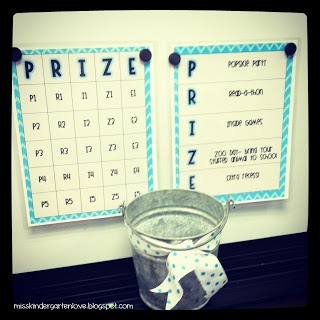 """FREE Behavior Bingo. """"Choose 1 behavior that you find your students are having a tough time with & let them know that you're looking for it. When they do the said behavior correctly, choose a ticket from the bucket. Then cover the corresponding number on the chart. You could just use a dry-erase marker since the chart is laminated, but I like to cover the chart with fun magnets instead. They get bingo by filling an entire column. Whichever column they fill 1st is the prize they will earn!"""""""