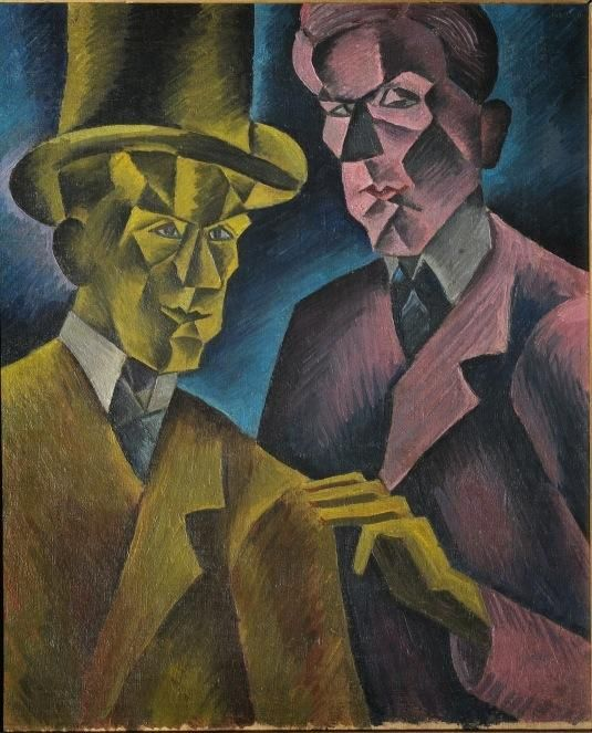 Bohumil Kubišta - Double #painting #art #Czechia