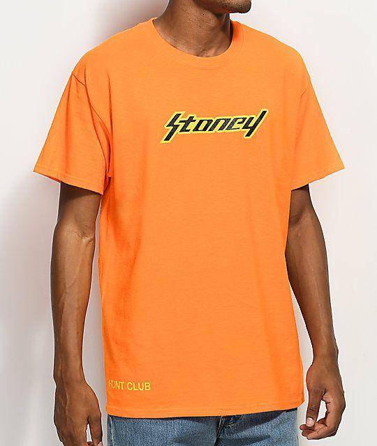 Post Malone Stoney Orange T-Shirt in 2019  3c6c439ed9aa