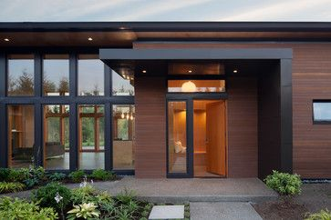 The L Shaped Exterior Entry Shelter Is Clad In 22ga