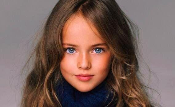 Kristina Pimenova, la niña más hermosa del mundo