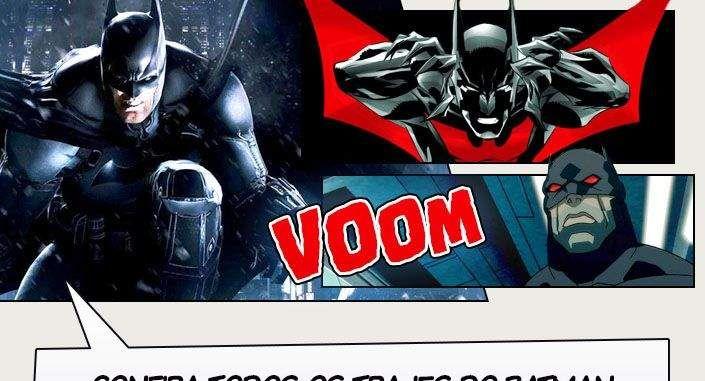 Batman: Arkham Knight foi lançado mundialmente no último dia 25 e nós já sabemos todos os trajes do Homem Morcego que estão presentes no jogo. Confira! No final explosivo da série Arkham,Batman enfrenta a maior ameaça contra a cidade que ele jurou proteger. O espantalho retorna a fim de reunir uma lista impressionante de super-vilões, …