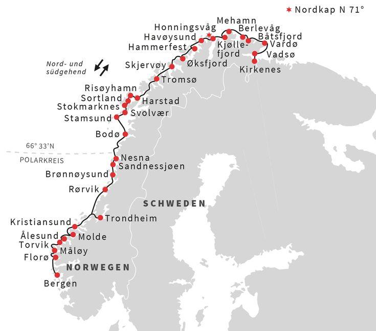 Norwegen: Die klassische Postschiffroute | Hurtigruten DE