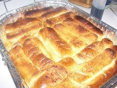 Finally as use for the leftover buns!!Hot Dog Bun Vanilla Bread Pudding