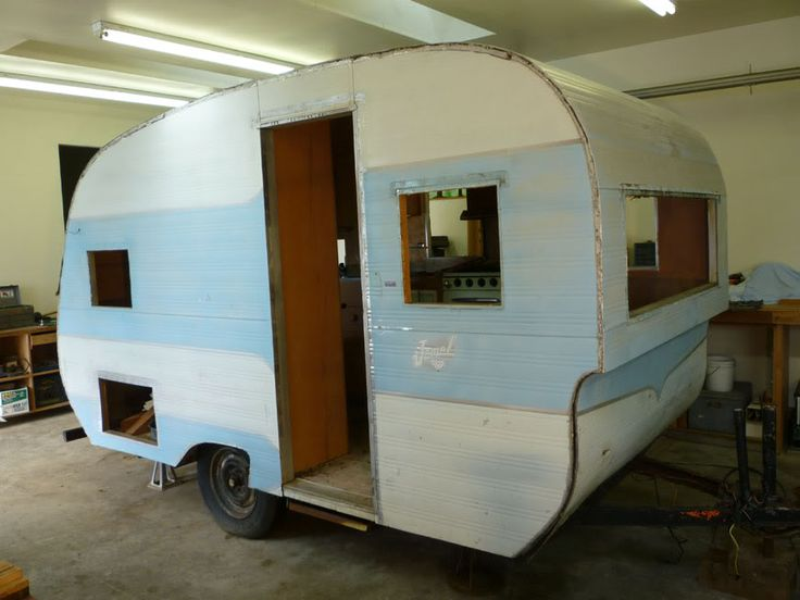 A 1957 Jewel in Pictorial Vintage Trailer Renovations Forum