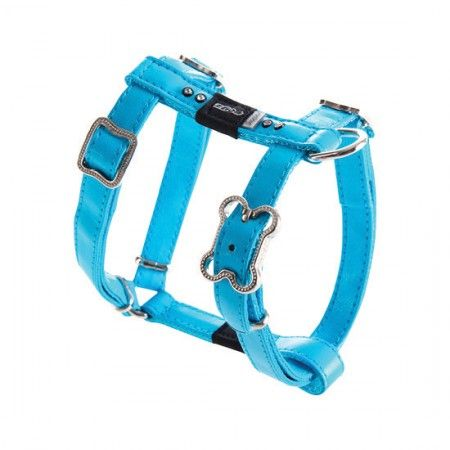 Rogz Lapz Luna Dog Harness Blue - Medium
