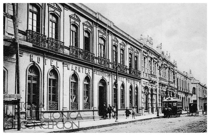 Hotel Wachter ca. 1900 Arquitecto desconocido Barros Arana entre Castellón y Colo Colo(1099×713)