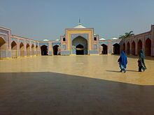 Shah Jahan Mosque Thatta Sindh Pakistan. The mosque was built in 1647, during the reign of Mughal King Shah Jahan, as a gift to the people of Sindh for their hospitality .