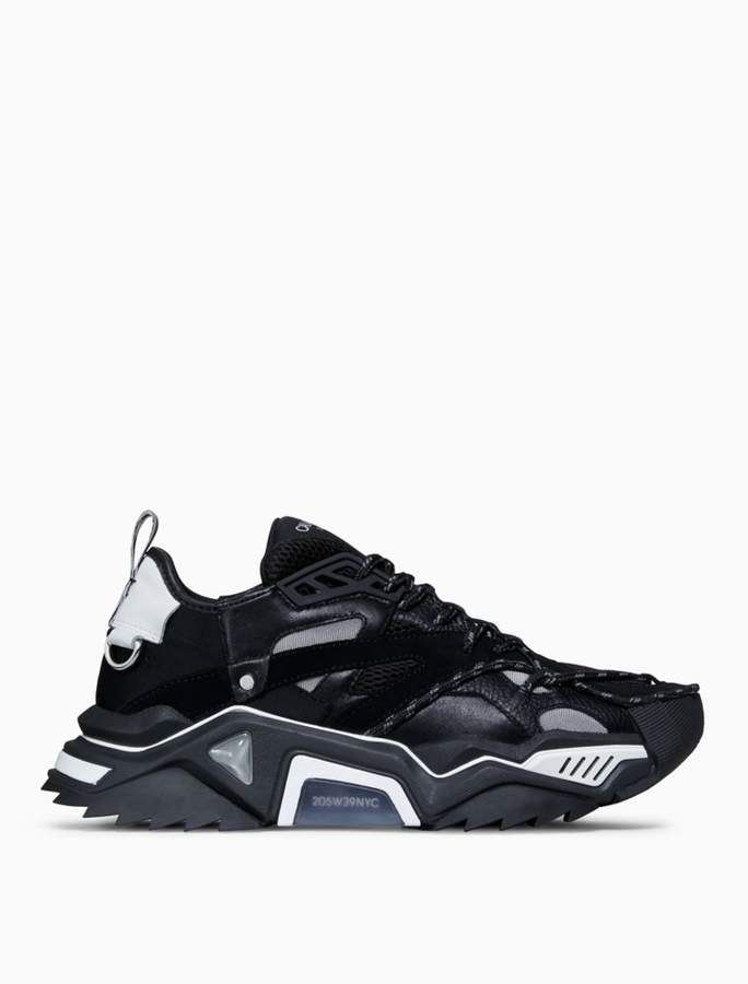 d43116cf74 Calvin Klein strike 205 lace-up heavy tread athletic sneaker in calf leather