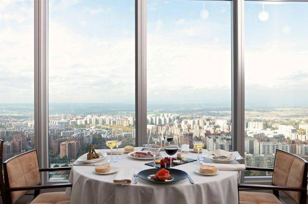 Guía Gastronómica 2015: Espacio 33 Paseo de la Castellana, 259-D. Torre Espacio. Madrid. vía app https://itunes.apple.com/app/id945297541?at=10lIMc&ct=945297541
