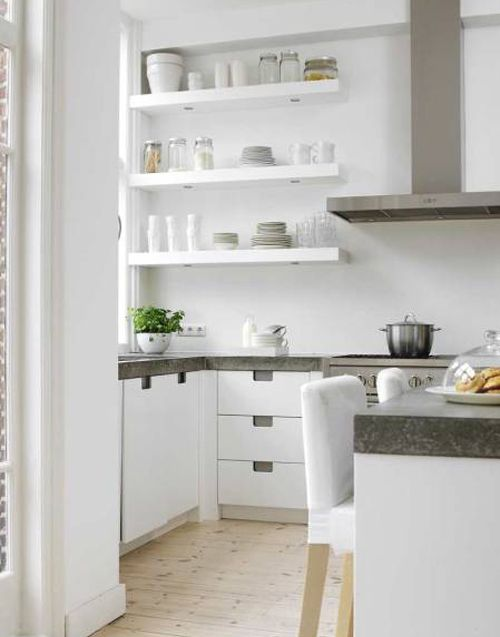 Scandinavian kitchen - via style-files.com
