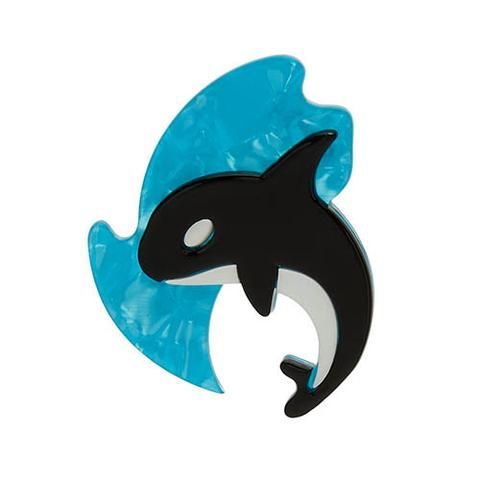 Olinda the Honorable Orca Brooch - Mine