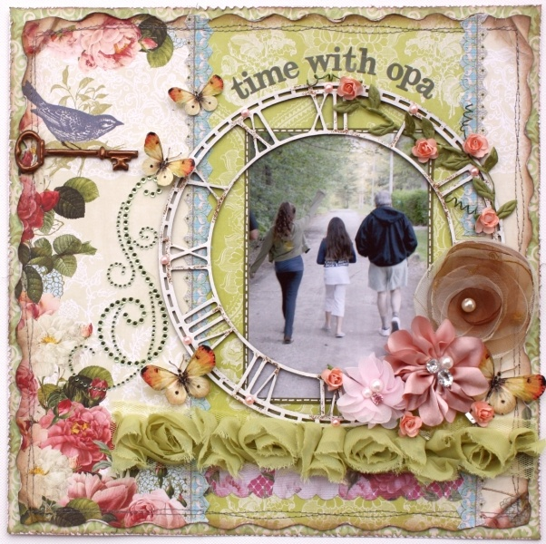 I made this l/o using the Websters Pages Country Estate collection, and WP Bloomers!! love them! (layout made by DT member Gabrielle Pollacco)