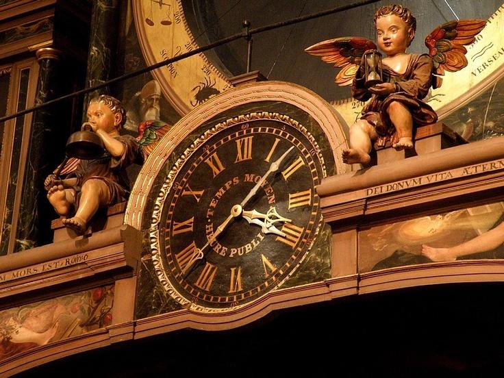 horloge astronomique Cathédrale de Strasbourg