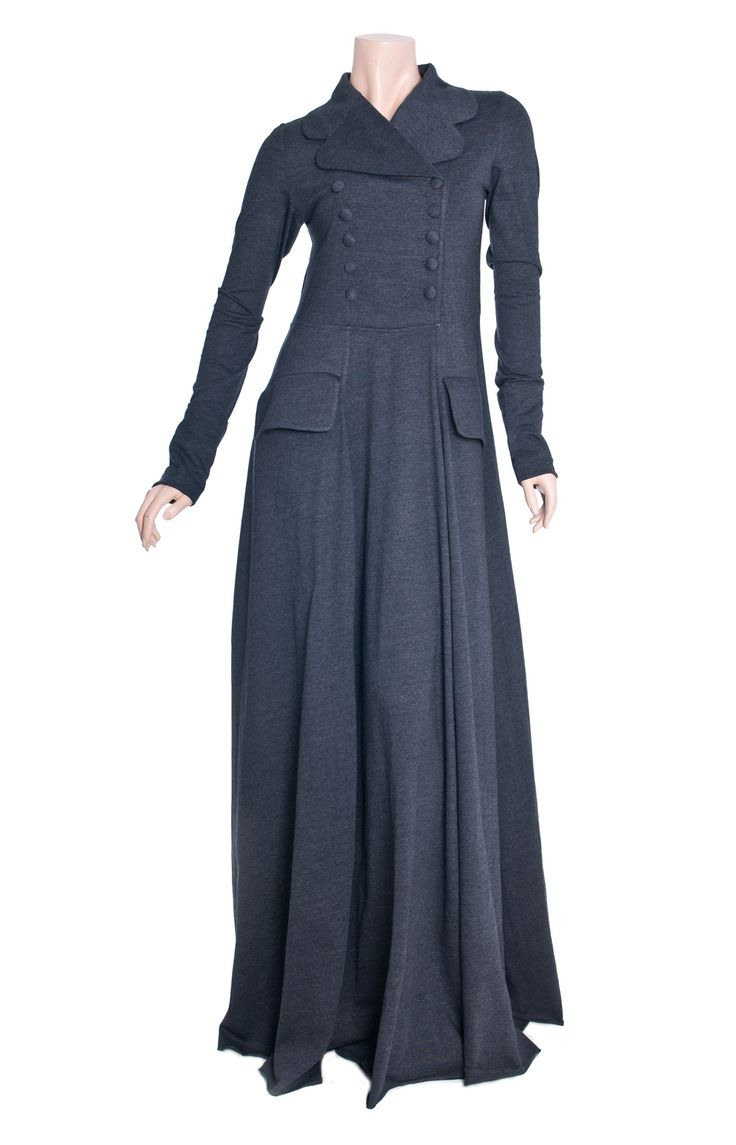 Aab UK Charred Coal Abaya : Standard view