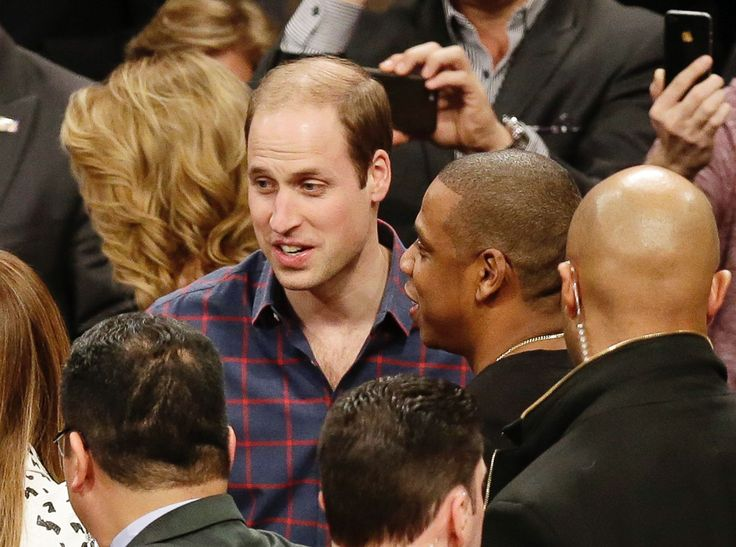 Spotted: Prince William meets Jay-Z at the Brooklyn Nets vs. Cleveland Cavaliers game