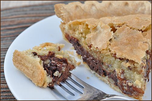 Chocolate Chip Cookie Pie: Pies Always, Pies Cobblers, Favorite Pies, Pies Cakes, Cookies Pies, Chips Pies, Derby Pies, House Pies, Pies And Pudding And Jello Oh