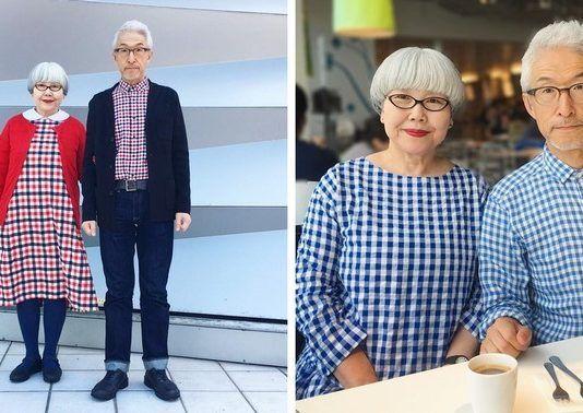 Ce couple marié depuis 37 ans s'habille toujours dans des tenues assorties.