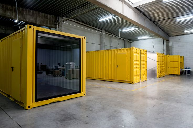 Five AM's Shipping Container Offices | We Heart; Lifestyle & Design Magazine
