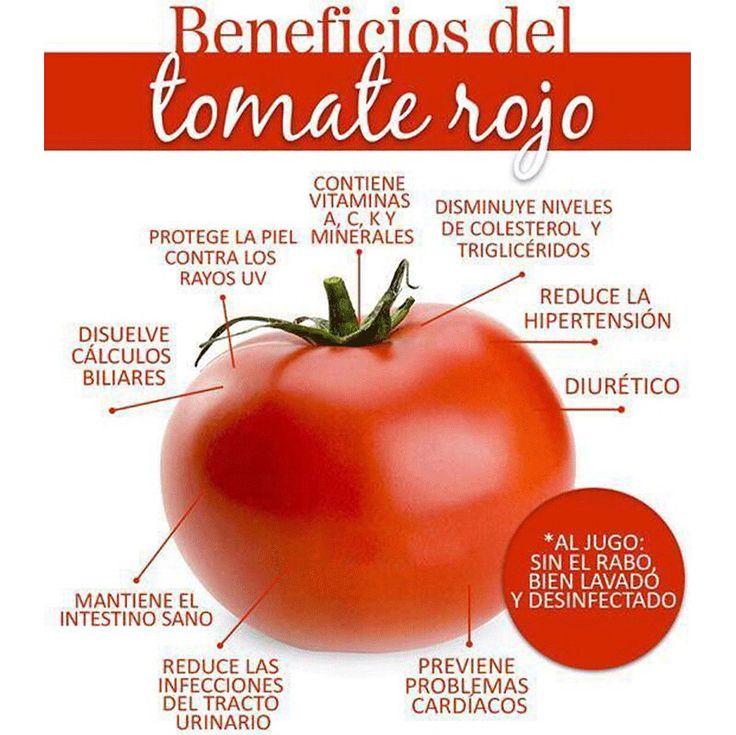 ¿Listos para preparar un delicioso jugo de #Tomate natural? Necesitarás 1 tomate, 1 limón, 5 tallos de apio, 1 pepino grande, 3 hojas de espinaca y ¡al extractor! Visita nuestra página web www.terra.net.co y llámanos al tel: (4) 3860181 Imagen vía habitos.mx